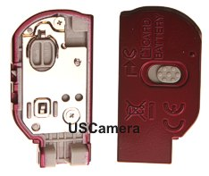 geniuine nikon L20 red battery cover assembly