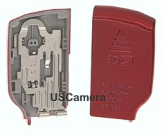 Genuine Kodak Red Battery Cover fits the C182 and CD82.