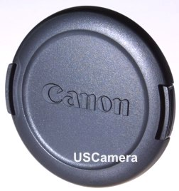 Canon 58mm lens cap