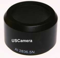 28mm - 36.5mm metal lens adapter for the Coolpix 3300, 4300 and 885