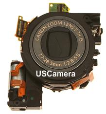 Genuine Canon replacement Black optical unit for the PowerShot SD990 IS