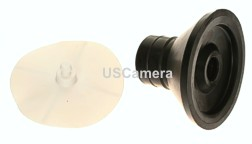 Bogen Manfrotto Rubber Foot with 42mm non marring cap bottom of the Auto Pole 032 / 032B / 076 / 076B / 077 / 077B
