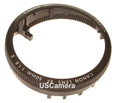 canon ef 50 1.8 II manual focus ring