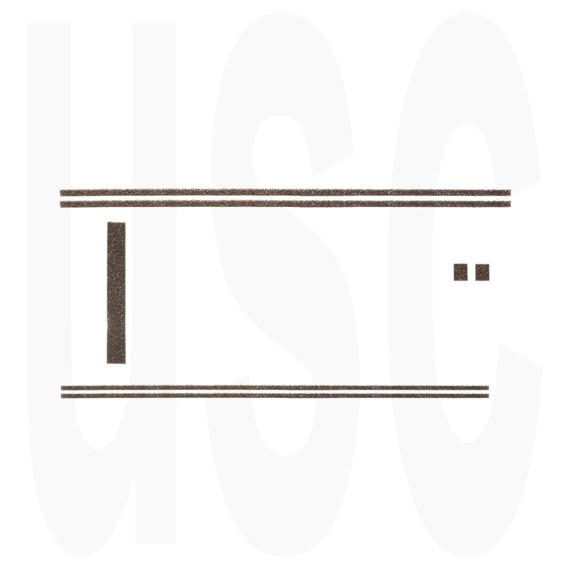 Details about Mamiya 1000 500 DTL TL Custom Light Seal Kit | USCamera  Premium Foam Seals